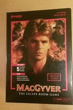 MacGyver: The Escape Room Game (Pressman) FREE USA SHIPPING New Factory Sealed