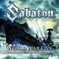 SABATON-WORLD WAR LIVE: BATTLE OF THE BALTIC SEA-JAPAN 2 CD BONUS TRACK G35