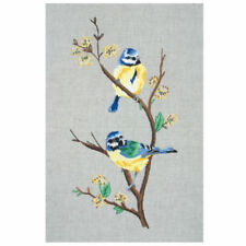 Blue Tits : Anchor  Embroidery  Kit : PE650