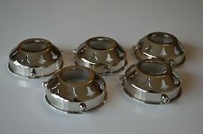 5 ANTIQUE STYLE CHROME GLASS LIGHT SHADE GALLERY 2 1/4 INCH LAMP SHADE NR5