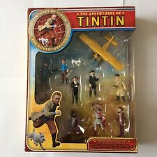 The Adventures of TinTin Figures - Boxed Collector Set..Plastoy..Rare