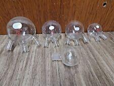 VINTAGE CHEMISTRY GLASSWARE, MISCELLANEOUS PIECES, LOT #2