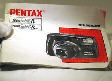 Pentax zoom 105-R 105-R Date camera Manual Guide Instructions En English