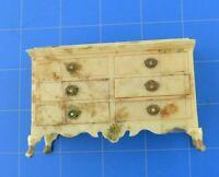 Marx Vintage Doll House Miniature Doll House Furniture Bedroom Drawer Dresser