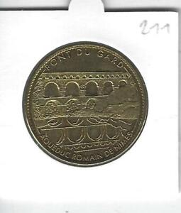 Médaille Souvenir 211 - 30 Vers Pont du Gard , sans date, Arthus-Bertrand