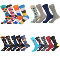 Unisex Men Women Cotton Socks Funny Printed Tube Socks Warm Thick Happy Socks CA