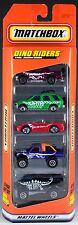 Matchbox Dino Riders 5 Pack 1997 NEW Isuzu, Mitsubishi, Ford, Chevrolet Van 4x4