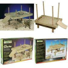 Turtle Pier Basking Platform Reptile Floating Dock Aquarium Fish Tank Decor L