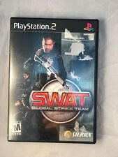 Swat Global Strike Team w/ booklet - Playstation 2 - Excellent Condition