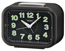 Seiko Alarm Clock With Klingel-Alarm Black QHK026K