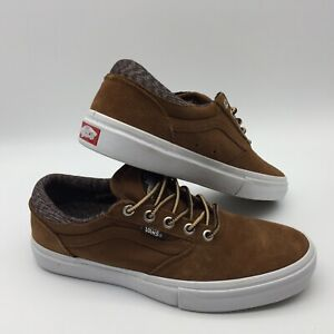 "Vans Men's Shoes ""Gilbert Crockett Pro""--(Herringbone Twill) Tabacco"