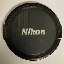 Nikon Camera Snap on Lens Cap Cover 77mm OEM Part Made in Japan