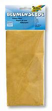 folia Blumenseide 50x70 Cm 5 Bogen Gold (4001868034431) (91065)