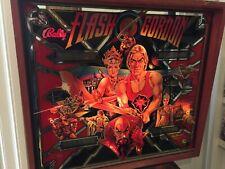 FLIPPER Flash Gordon PINBALL by Bally 1981 VINTAGE raro ORIGINAL milano anni '80