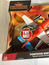 Disney Planes Fire & Rescue Pontoon Dusty Deluxe Talking Vehicle PC7