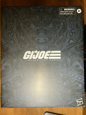 2019 G.I. JOE SNAKE EYES classified exclusive deluxe hasbro EMPTY BOX & ART ONLY