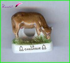 """Feve de collection Les VACHE Edition Atlas """" La Camargue """" Cow #A43"""
