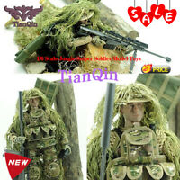 "1/6 Scale action figures Military doll flexible 12""Jungle Sniper Soldier Model"
