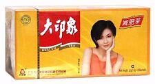 Confezione Da 4 di ottimo Impressione Cinese Salute Tè Dimagrante Giallo Pacco