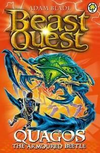 Beast Quest: Quagos the Armoured Beetle by Adam Blade   **NEW PAPERBACK**