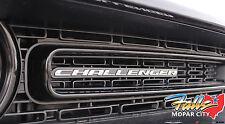 2015-2019 Dodge Challenger Nameplate Clip On Grille Badge Emblem Medallion Mopar