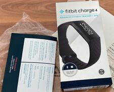 Fitbit Charge 4 NFC Fitnesstracker Black / Black NEU
