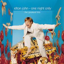 Elton John One Night Only The Greatest Hits 2 X 180gsm Vinyl LP D'load