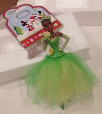 NWT Disney Store 2011 Princess & the Frog Tiana Sketchbook Christmas Ornament