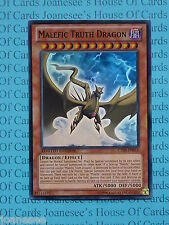 Malefic Truth Dragon CT09-EN016 Super Rare Yu-Gi-Oh Card Mint Ltd Edition New