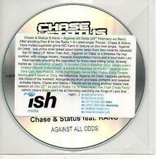 (706D) Chase & Status ft Kano, Against All Odds - DJ CD