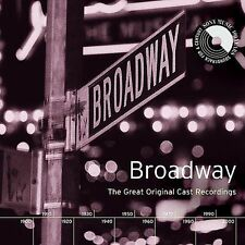 Broadway: The Great Original Cast Recordings by Various Artists (CD, Oct-1999, 2