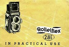 ROLLEIFLEIX 2.8E INSTRUCTION MANUAL FREE SHIP