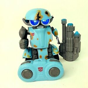 """Transformers The Last Knight RC Robot Autobot Squeeks Squeaks 9"""" Remote Toy"""