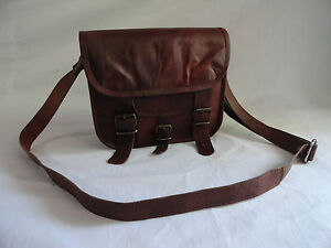 Women Lady CAMEL Leather Bag Tote Purse Handbag Messenger Crossbody Satchel