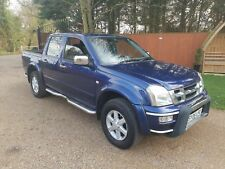 isuzu rodeo denver 3.0 td 2006 double cab pick up truck leather aircon satnav