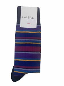 Paul Smith, Luxury Fashion Designer Quirky Dress Casual Socks (Choose Pattern)