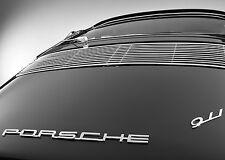 PORSCHE 911 REAR VINTAGE  20 X 30 LARGE POSTER  VINTAGE CAR POSTER