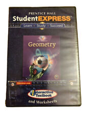 Student Express Geometry (Cd Software) Prentice Hall Interactive Textbook + W.S.