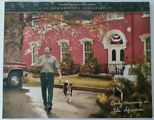 """JACK DANIELS 2011 """"EARLY MORNING ON THE SQUARE"""" TENNESSEE SQUIRE MEMBER CALENDAR"""