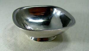 Early Arts & Crafts Arthur Stone Workshop Sterling Silver Open Salt 1912 - 1914