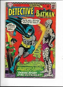Detective 356 VG+ (4.5) 10/66 Early appearance of Alfred in the Silver Age!