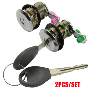 For Nissan Altima Frontier Pathfinder Xterra DL121 Left & Right Door Lock w/ Key