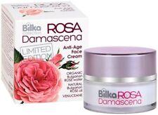 Bilka Rosa Damascena Rejuvenating Anti Age Face Cream Natural Rose Oil 40ml