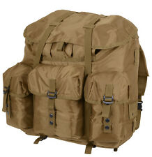 military backpack alice pack coyote large size with aluminum frame rothco 2966