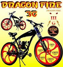 """2-Stroke 66cc/80cc motorized bike Kit With DIY 26"""" Gas Tank BICYCLE Powerful"""
