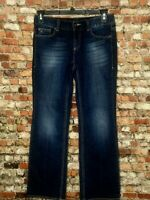 Tommy Hilfiger Freedom Boot Womens Dark Wash Blue Jeans Size 6 R Measure 32x30