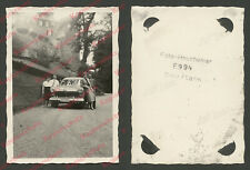 o. Foto Auto Ford Taunus 12M Weltkugeltaunus Burg Diez Lahn Rheinland-Pfalz 1958