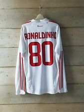 Authentic player issue AC MILAN 2008 away jersey maglia Formotion Ronaldinho 10