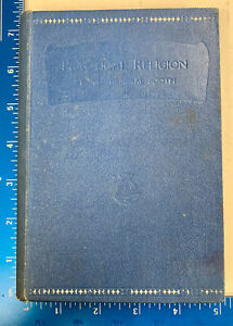 Salvation Army Book 1891 Catherine Booth Practical Religion