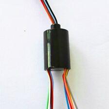 12.5mm 300Rpm Capsule Mini Slip Ring 12 Circuits 2A 240V Test Equipment 12U